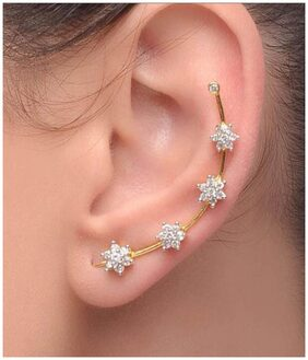 Jewels Galaxy White Earrings