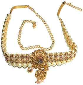 Jewels Kafe Waist Hip Belt Kamarband