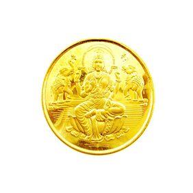 Jpearls 22Kt 4 Gram Laxmi Gold Coin