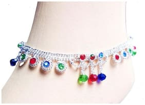 KAMADA CREATIONS Multi Colored Anklets For Women