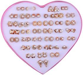 Karki Fusion 36 Pair Stud Earring For Women