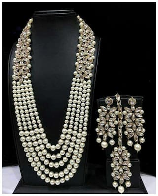 TAHIRA FASHION Assorted Alloy Festive Wear & Party Wear Antique Necklace
