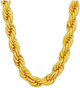 Latest Fashion Gold Plated Thick & Short Chain