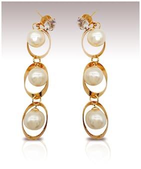 7ff5da64eb329 Earrings Online - Upto 80% Off on Designer Earrings, Jhumka, Gold ...