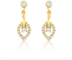 Mahi Brass Dangle & Drop Earring For Women Gold - ER2193060G