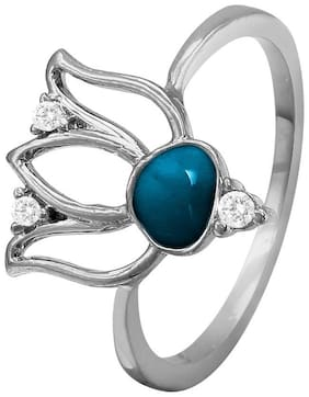 Blue Alloy Ring