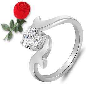 White Alloy Ring