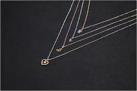 Alloy Silver Contemporary Necklace