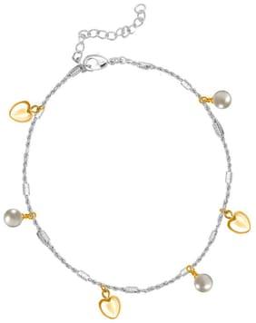 Silver Alloy Anchor Chain