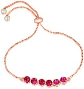 Pink Alloy Bracelet