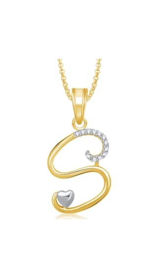 Buy meenaz s letter pendant locket gold plated alphabet heart for meenaz s letter pendant locket gold plated alphabet heart for men and women with mozeypictures