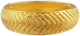 Memoir Brass Gold Forming Challa Finger Ring Men (ORRM6518)
