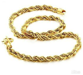 Men's Gold Plated Snake Chain