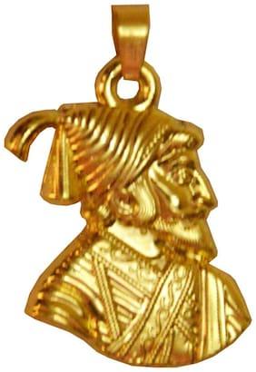 Men Style Gold Chhatrapati Shivaji Maharaj Pendent