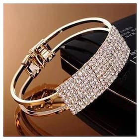Popmode Chain Bracelets Women's Rhinestones Studded Bracelet