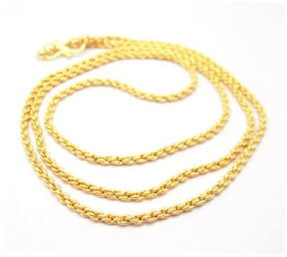 Buy Micro Gold Plated Neck Chain for Men   Women a0d5352e17