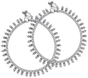 MissMister Silver Anklets For  Women