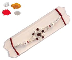 MOHIT RAKHI DESIGNER RAKHI SET OF 2 FOR BROTHER