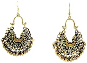 muccasacra Hot Selling Fashion Afghani Style Alloy Dangle Earring, Jhumki Earring