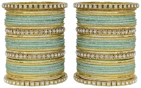 MUCH MORE Elegant  Bangles Set With Crystal Stone