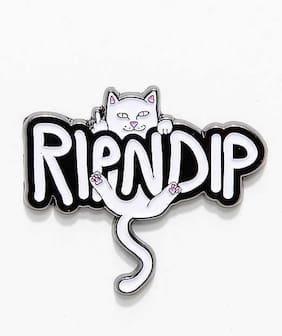 NEW RIPNDIP LORD NERMAL CAT LEAF PIN / HANGING PIN / NERMAL P.I.