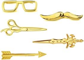 Alloy Gold Lapel Pin