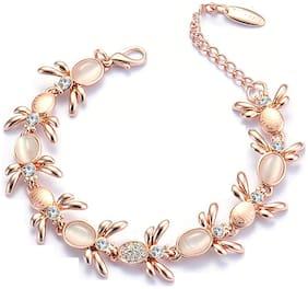 Rose Gold Alloy Bracelet