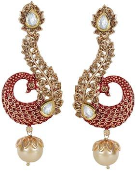 Kundan Alloy Dangle Earring