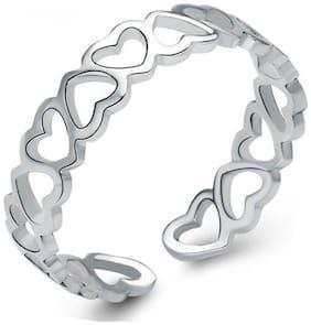 White Brass Ring