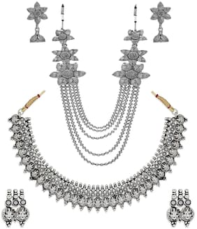 Alloy Silver Necklace
