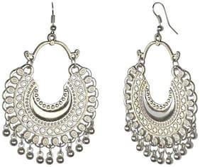 Omaya Silver Dangle Earring For Women