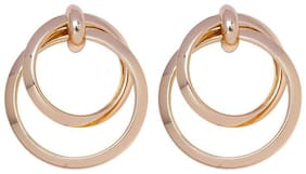 Oomph Women Alloy Layered Style Dangle Earring