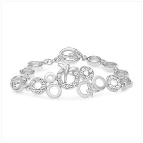 White Alloy Bracelet