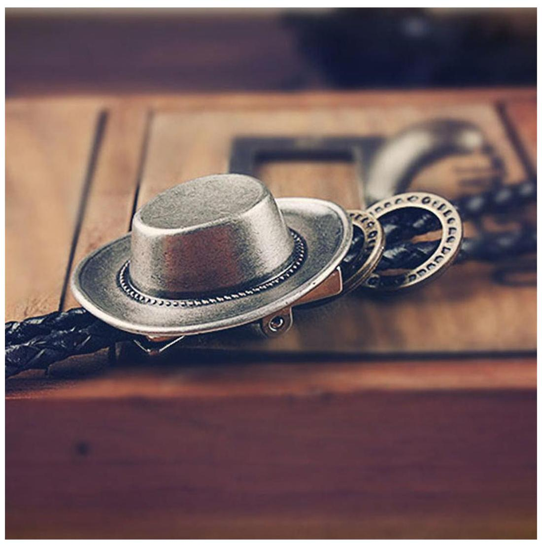 Buy Phenovo Hot Indian Cap Bolo Tie Dance Rodeo Western Cowboy Bola Tie Necktie Necklace Online at Low Prices in India - Paytmmall.com