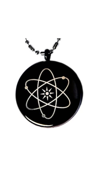 Buy quantum bio science black pendant chain necklace scalar energy quantum bio science black pendant chain necklace scalar energy negative ions emf protection aloadofball Choice Image