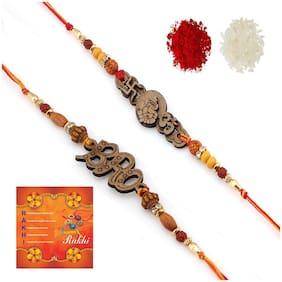 Clay Multi Rakhi