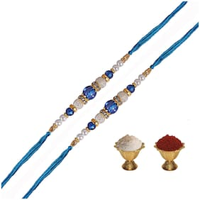 Pearl Multi Rakhi