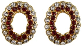RABIA TAJ PEARL & ARTS Alloy Multi Colored Stud
