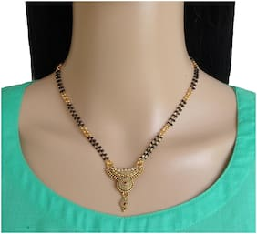 Ramdev art Designer and Stylish Alloy Mangalsutra for Women and Girls