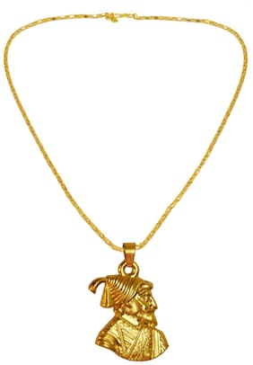 Religious Jewelry Chhatrapati Shivaji Maharaj Pendant Necklace