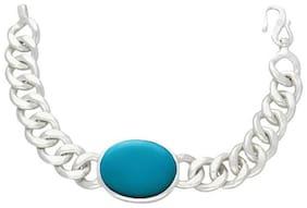 Salman Khan Bracelet for Men Firoza Silver Bracelet for Salman Khan Fan's