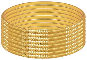 Samaayka Gold Women Bangle Set
