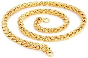 Shine Art 22k Gold Plated Chain for Men & Boys,