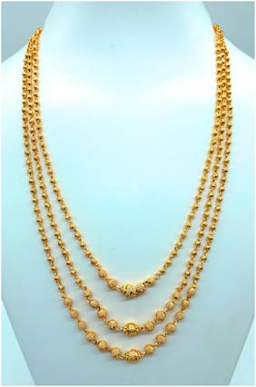 Brass Gold Enamelled Chain