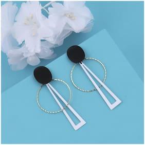 SILVER SHINE Party Wear Stylish Dangle Earring For Girl Women