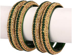 Somil Bridal Wedding Collection Party Festival Kada & Bangle Set Designer Ornamented