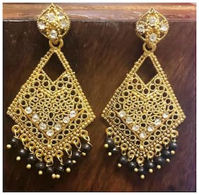 SparkEve oxidized Gold Earrings for Girls and Women