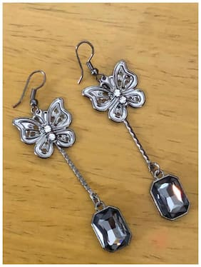 SparkEve Metallic Dangler Earring for Girls and Women