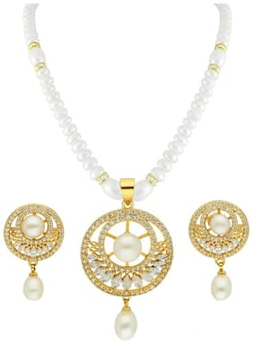 Sri Jagdamba Pearls Necklaces;Neck Pieces & Sets Women Alloy