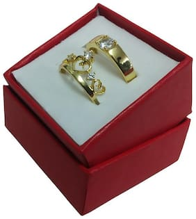 Gold Stainless Steel Ring